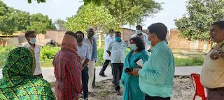 सीएमओ ने मेदपुर बनकट गांव का किया निरीक्षण    #NayaSaberaNetwork