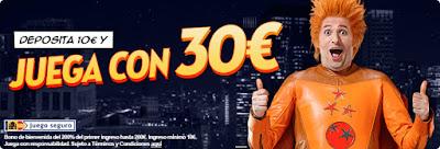 botemania bono bienvenida deposita 10 euros y consigue 30 euros