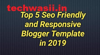 It ranks in the top 5 free premium and SEO optimized templates for Blogger in 2019.