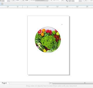 Memasukan Gambar ke dalam Lingkaran menggunakan Corel Draw