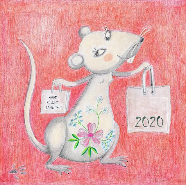 Aide Leit-Lepmets valge metall roti aasta lihula lilltikand