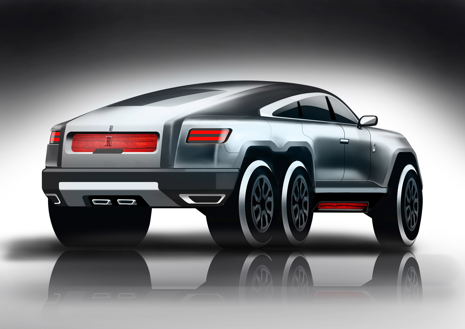 This Rolls Royce 6x6 Suv Design Is Crazy But Not That