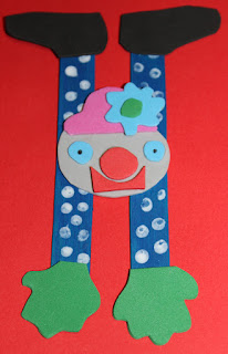 activité enfant clown équilibriste