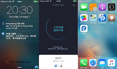 bản iOS 9.1 được Jailbreak