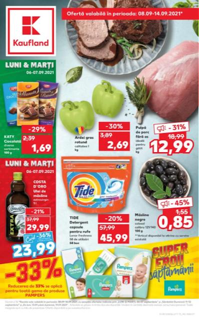 Kaufland Promotii + Catalog - Brosura 8-14.09 2021 →  -33% SUPPER EROII | Ofertele STARTUL SAPTAMANII 06.09