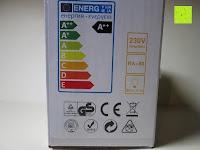 Energieklasse: LED-Filament-Lampe RETROFIT CLASSIC (ersetzt 60 Watt) E27 warmweiß, Lebensdauer 30 Jahre! 6 Watt, 550 Lumen, 2 Glühfaden, MATT [Energieklasse A++]