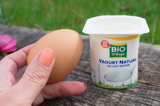 shampoing yaourt oeuf