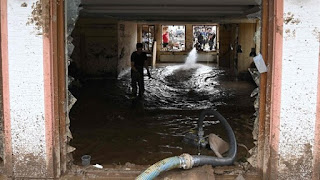 The death toll from flooding in Western Europe climbed above 180