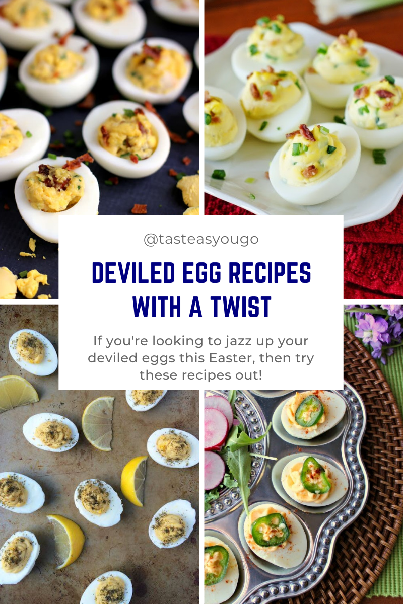 Deviled Egg Recipes with a Twist | Taste As You Go