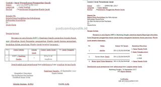 Contoh Surat Permohonan dan Pengajuan Penggantian Ijazah Rusak/Hilang
