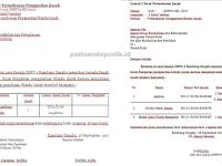 Contoh Surat Permohonan dan Pengajuan Penggantian Ijazah Rusak/Hilang di