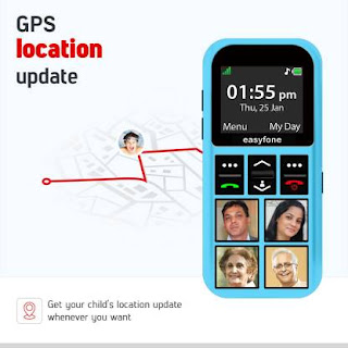 phone for kids with live GPS tracking