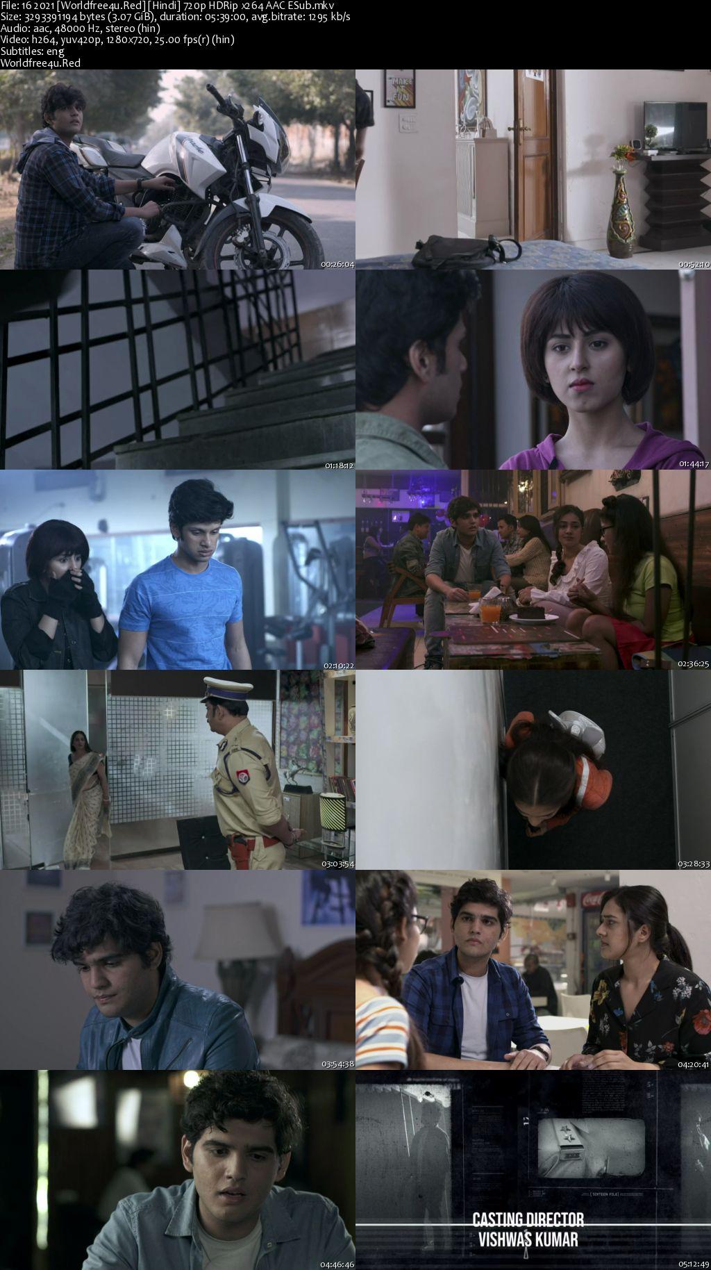 16 (2021) (Season 1) All Episodes HDRip 720p
