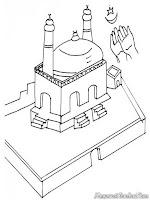 Melaksanakan Sholat Idul Adha Dimasjid