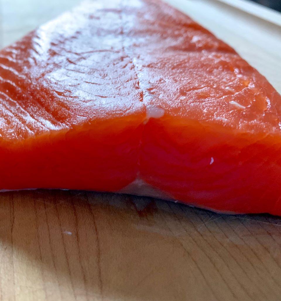 Thick cut Wild Alaskan Coho Salmon