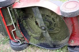 Cleaning a Lawn Mower Deck