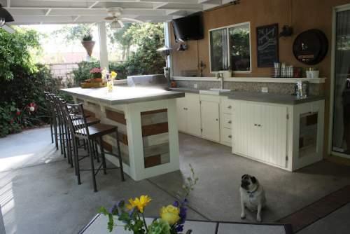 dapur outdoor cantik
