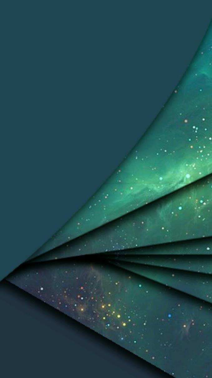 Via Láctea Abstrato Papel De Parede Celular