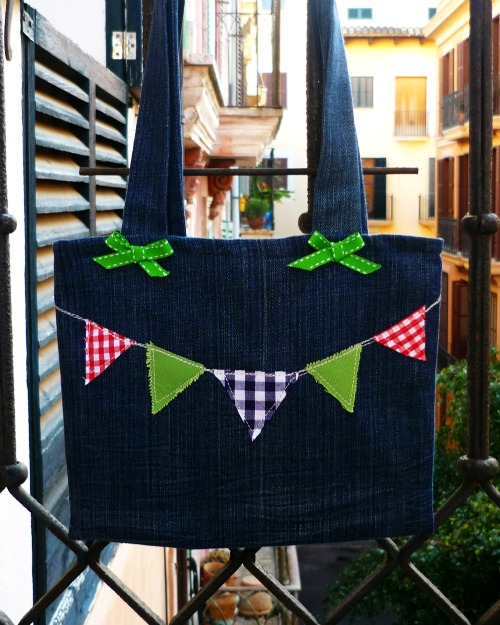 D.I.Y Time - Child's Bunting Tote Bag