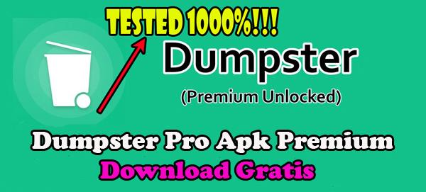 Download, Dumpster, Pro, Apk, Premium, Terbaru, 2021, v3.9.392, versi, android, gratis,