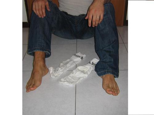 Straight Jock Feet Hot Feet And Socks-1184