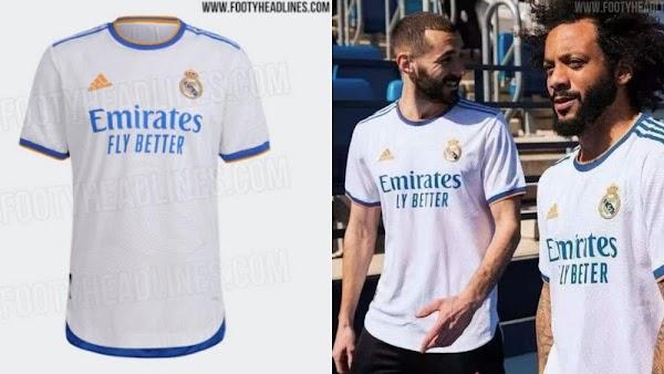 Así sería la camiseta del Real Madrid 2021/2022