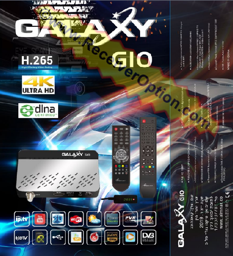 GALAXY G10 HD RECEIVER NEW SOFTWARE WITH ADD IP AUDIO