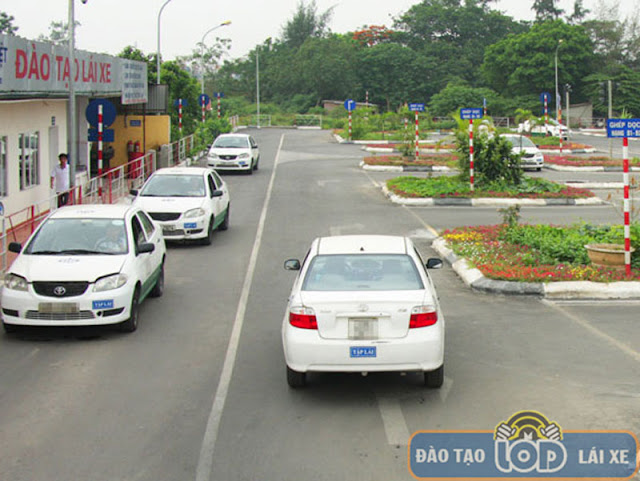 Sân tập lái xe ô tô B1, B2, C Thái Việt - Thường Tín