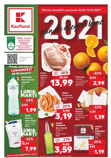 Kaufland Promotii + Catalog-Brosura 06-12.01 2021