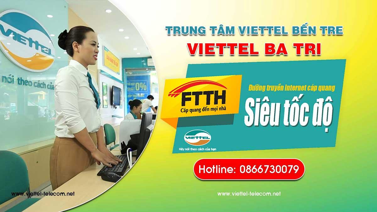 Cửa hàng Viettel Ba Tri