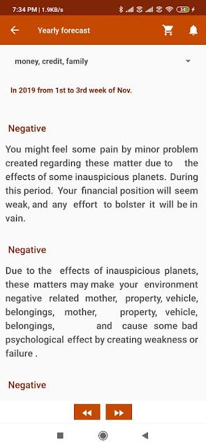 money horoscope free