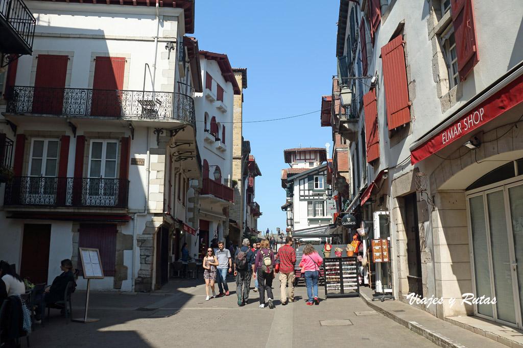 Rue de la Republique de San Juan de Luz