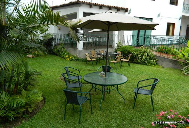 Jardim do Hotel Señorial, Miraflores, Lima