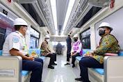 Ditargetkan Beroperasi Tahun 2022, Presiden: Progres Pembangunan LRT Jabodebek Capai 84,7 Persen