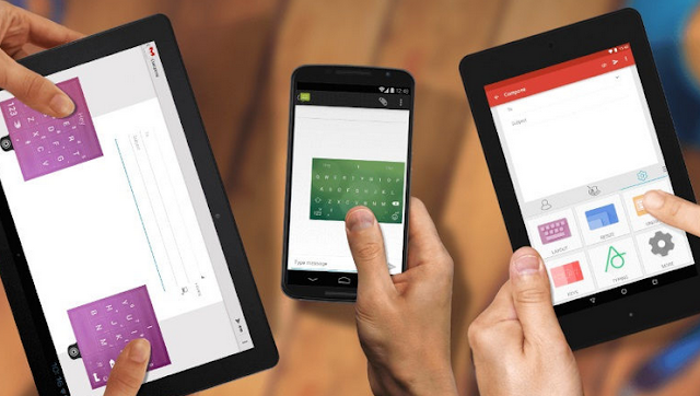 Android Update Brings New Layouts for SwiftKey