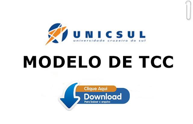 Modelo de TCC UNICSUL