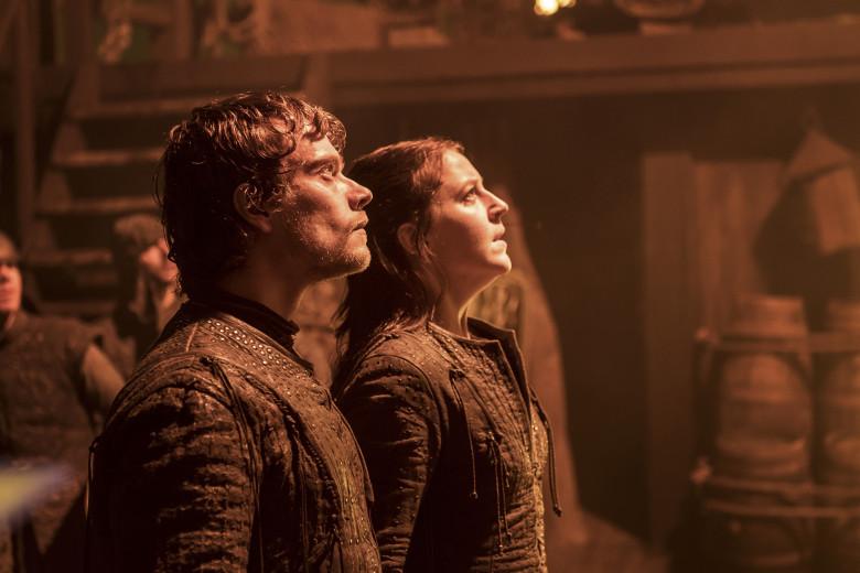 Theon y Yara Greyjoy en 'Stormborn'