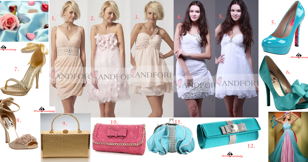 Dress4Cutelady: Pink And White Pretty Dresses For Cocktail