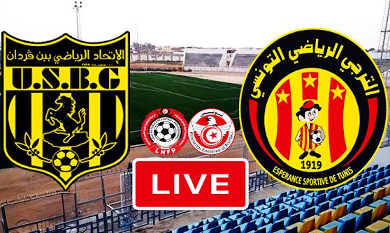 Ligue 1 Tunisie Match US Ben Guerdane vs Esperance Sportive De Tunis Live Stream