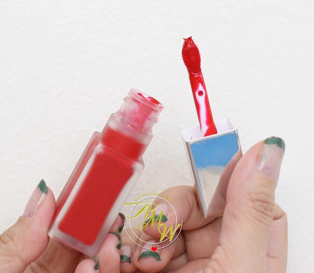 a photo of CLINIQUE Pop Matte Rose Pop + Primer and Pop Liquid Color + Primer Flame Pop