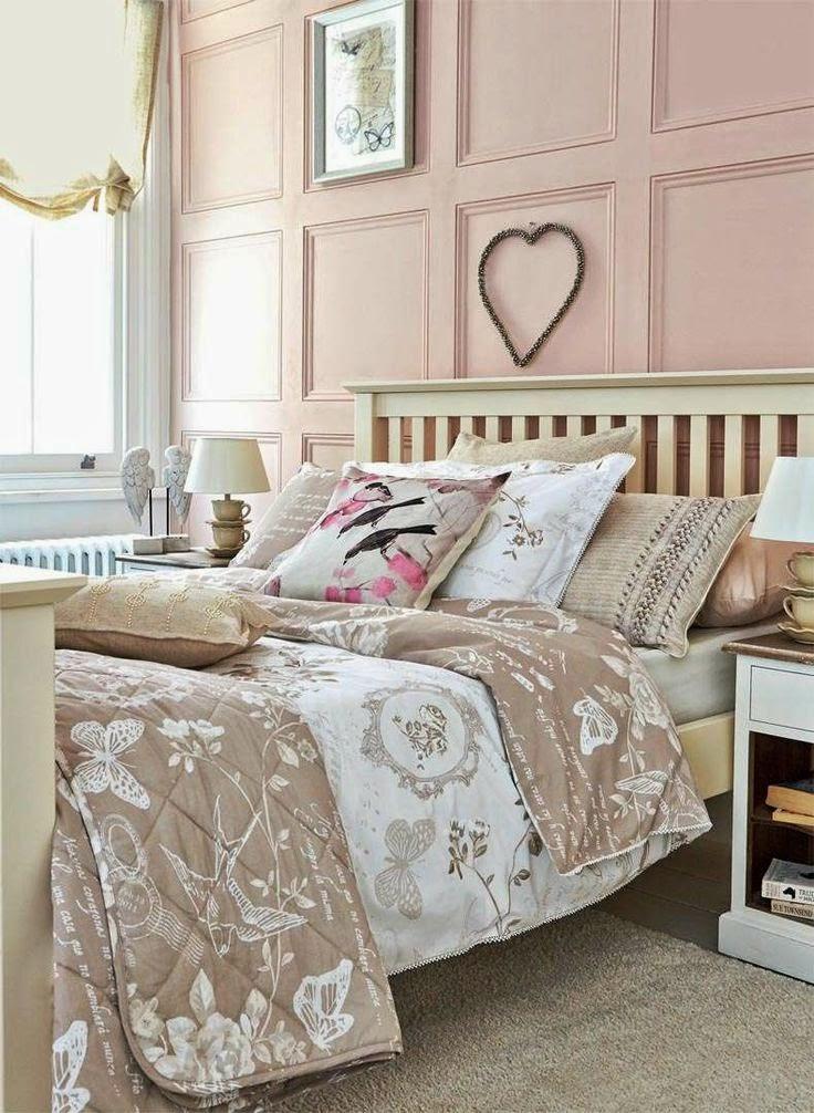Eye For Design: Decorating Grown Up Pink Bedrooms