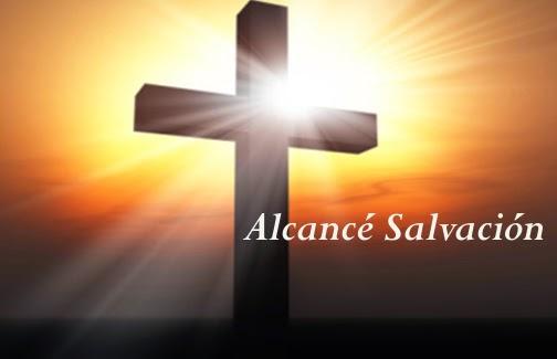 Letra del himno Alcancé Salvación