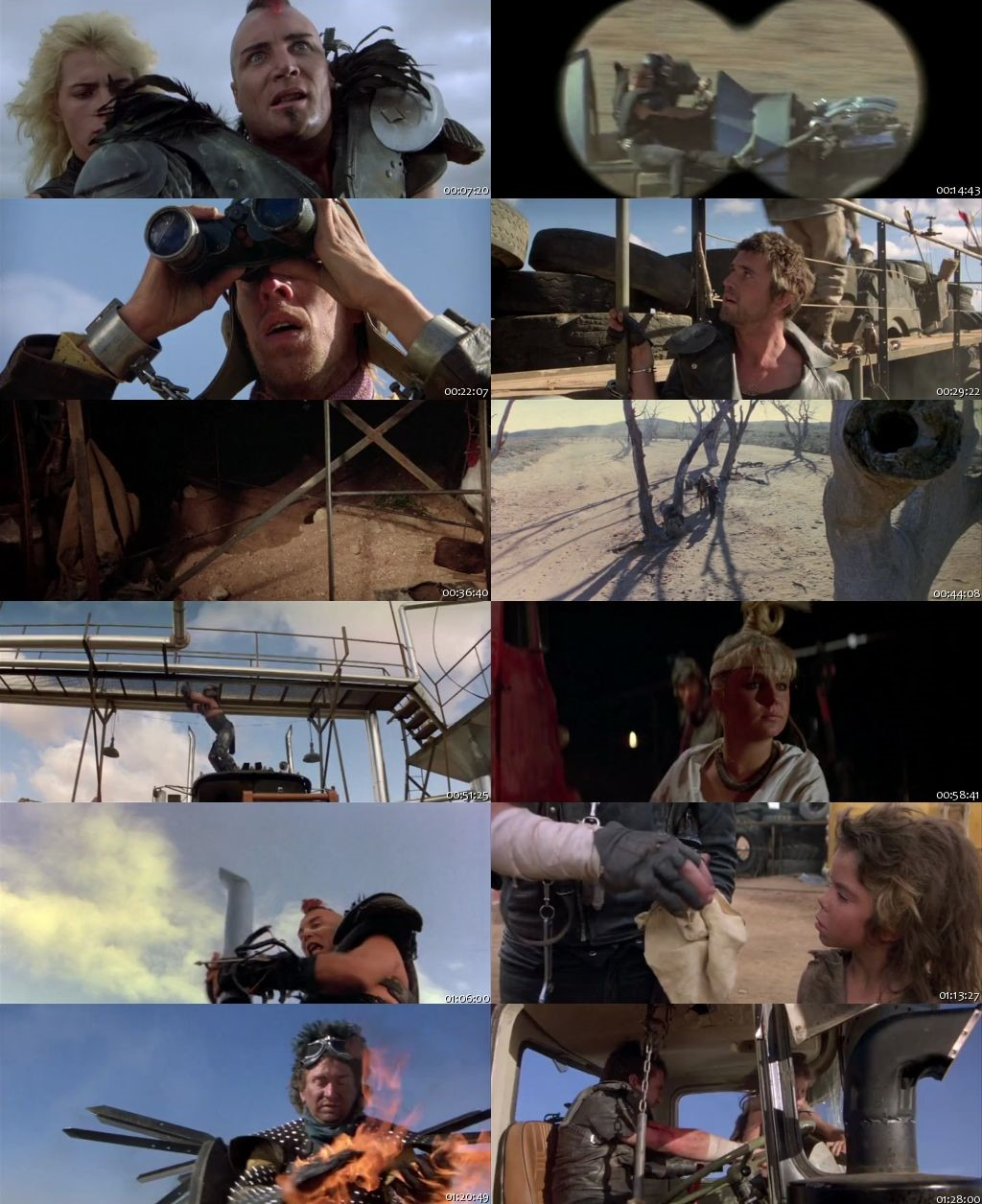 Mad Max 2: The Road Warrior 1981 BRRip 480p 300Mb [Hindi-English]