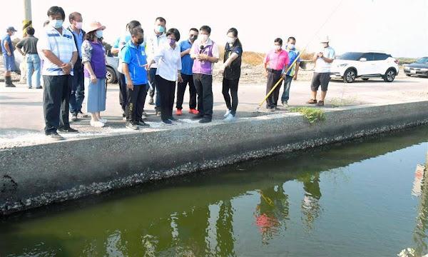 芳苑漢寶、永興養殖區進排水路塌陷 縣府挹注8433萬改善