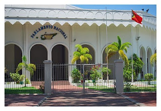 Image of the East Timor Leste National Parliament Chambers in Dili.