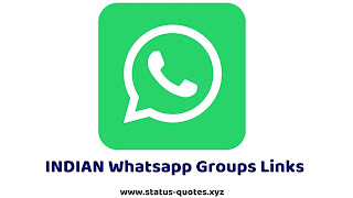 【ACTIVE】INDIAN Whatsapp Group Link