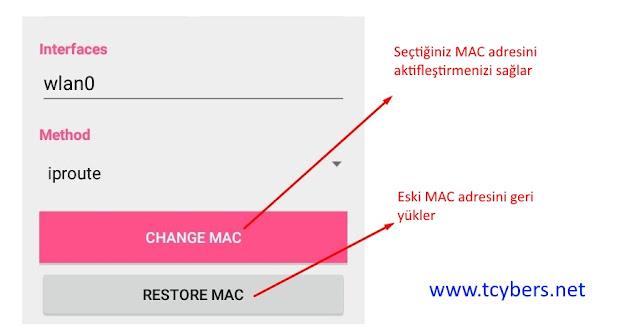 android-mac-adresi-degistirme