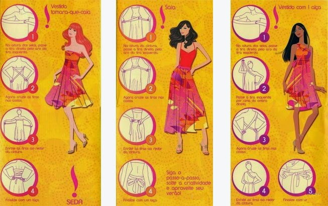 pareo, falda, vestido, transformable, multiusos, mágico, bricomoda, refashion