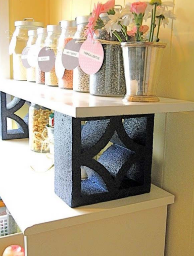 CINDER BLOCK PROJECTS FOR YOUR HOME