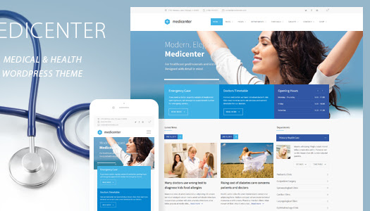 Nulled MediCenter v6.1 – Responsive Medical WordPress Theme